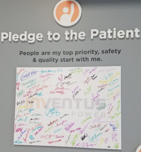Patient Priority Wall - Pledge to the Patient