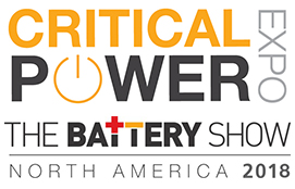 The Battery Show Critical Power 2018