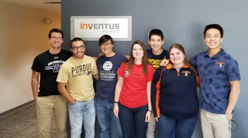 Inventus Power Summer 2018 Interns