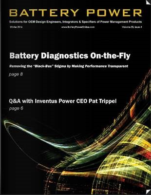 Read Battery Power's Q&A with Inventus Power CEO Pat Trippel