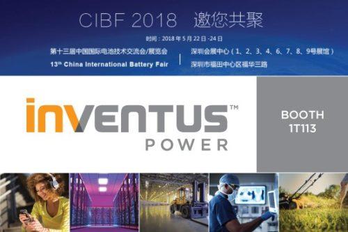 China International Battery Fair 2018