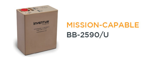 Inventus Power BB-2590/U Rechargeable Battery Storage