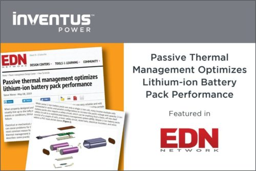 Inventus Power_EDN_Passive Thermal Management_May 2019